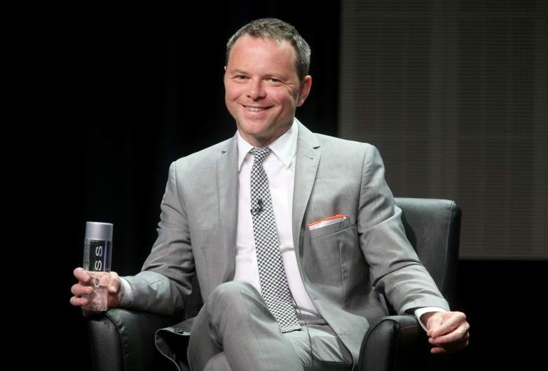 Noah Hawley speaks onstage at the 'Fargo' panel during the FX Networks portion of the 2014 Summer Television Critics Association