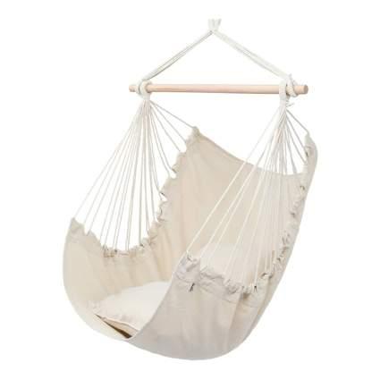 White chair hammock