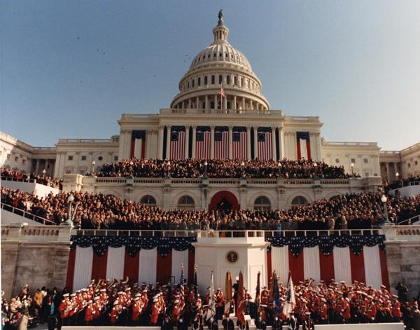 clinton inauguration