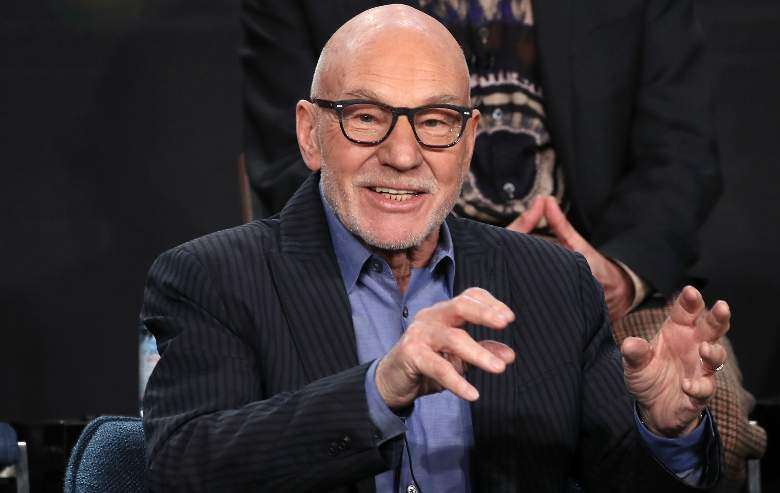"Sir Patrick Stewart of ""Star Trek: Picard"" speaks during the CBS All Access segment of the 2020 Winter TCA Tour at The Langham Huntington, Pasadena on January 12, 2020"