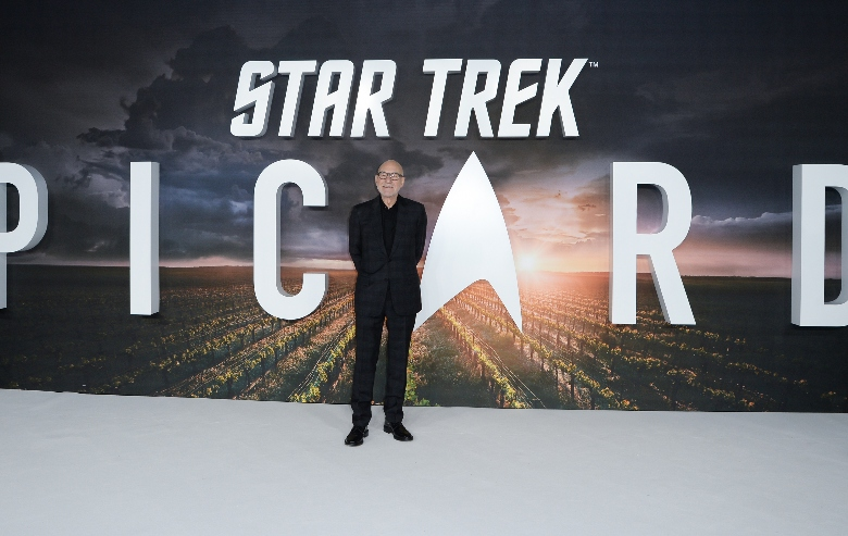 """Sir Patrick Stewart attends the """"Star Trek Picard"""" UK Premiere at Odeon Luxe Leicester Square on January 15, 2020 in London, England"""