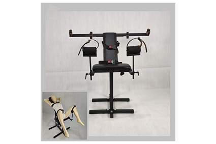 Black BDSM bondage chair