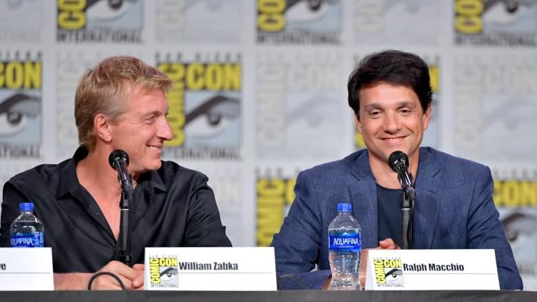 William Zabka and Ralph Macchio Comic-Con
