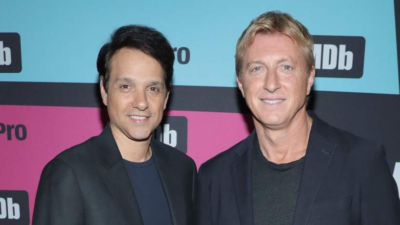 Ralph Macchio and William Zabka Posing