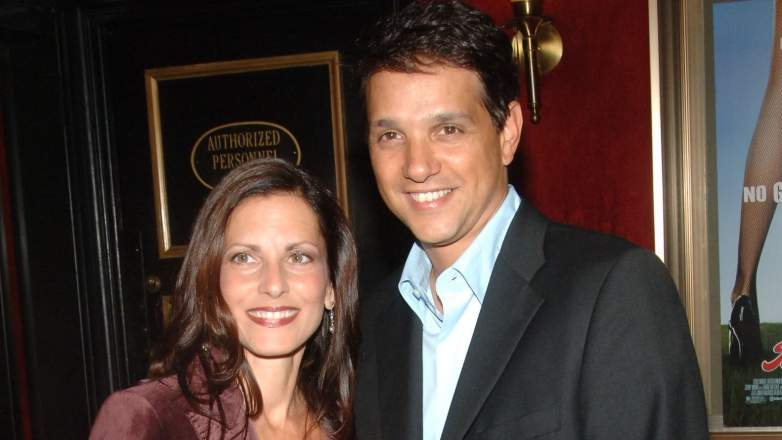 Ralph Macchio and his wife Phyllis