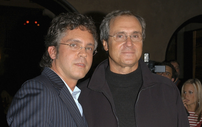 """Executive Producers Brannon Braga and Rick Berman attend the """"Star Trek: Enterprise"""" Finale Party at the Hollywood Roosevelt Hotel"""
