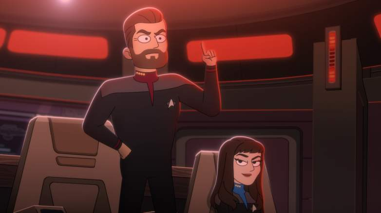 William Riker and Deanna Troi
