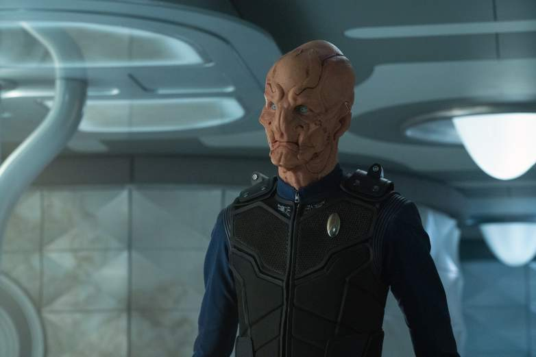 Captain Saru on the Discovery