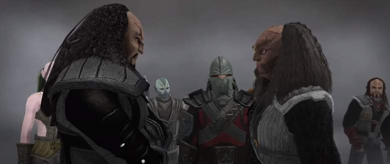 Screenshot from Star Trek Online House Reborn Klingon content