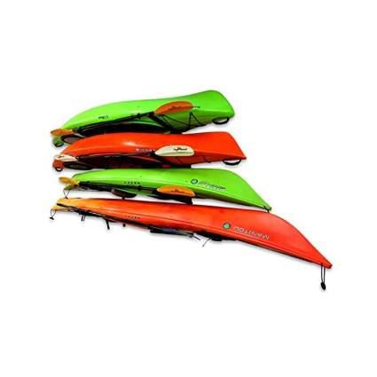 StoreYourBoard 4 Kayak Wall Mounted Storage Rack