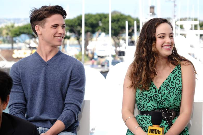 Tanner Buchanan and Mary Mouser Comic-Con