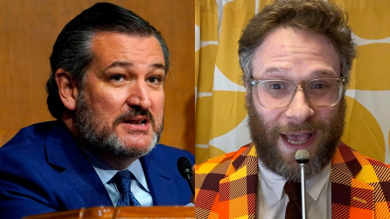 Ted Cruz, Seth Rogen