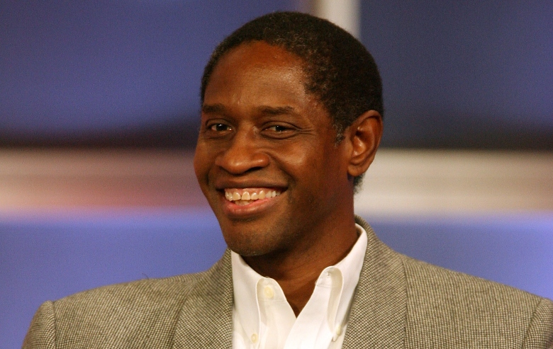 """Tim Russ of """"Samantha Who?"""" speaks during the 2007 Summer Television Critics Association Press Tour for ABC held at the Beverly Hilton hotel on July 26, 2007 in Beverly Hills, California"""