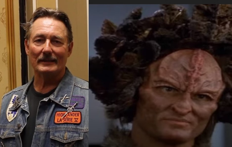 Anthony De Longis and his character Culluh from Star Trek Voyager