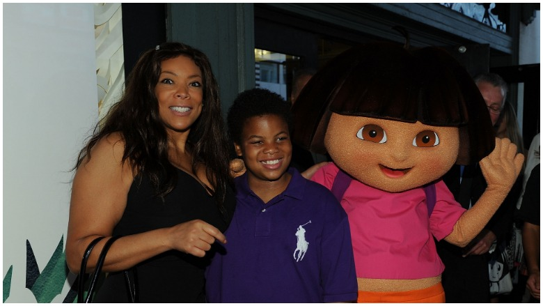 Wendy Williams and her son