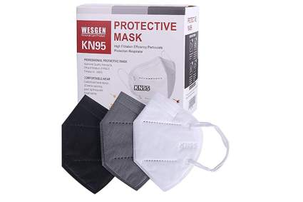 five layer kn95 face mask