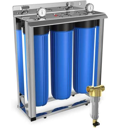 Aquaboon Big Blue 3-Stage Whole House Filtration System
