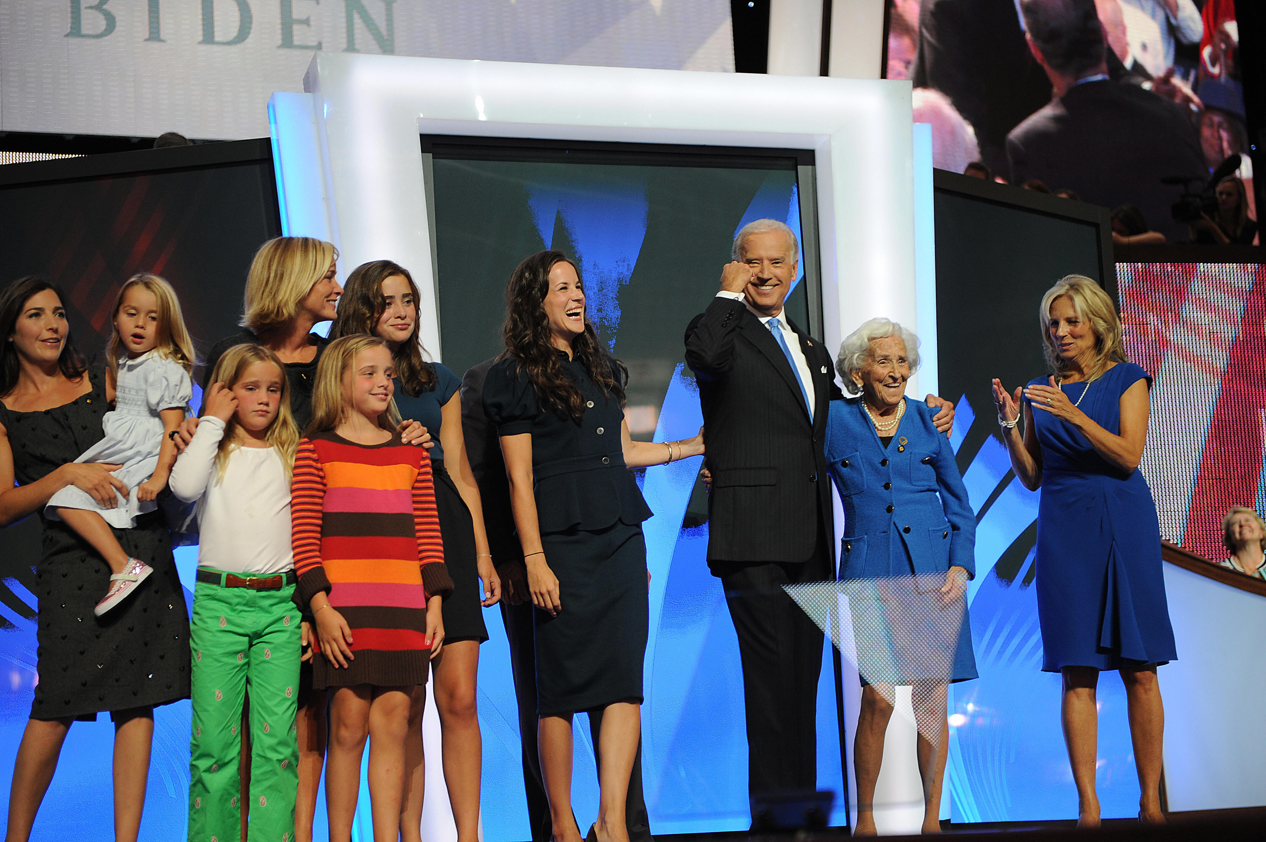 Biden mother Jean and family