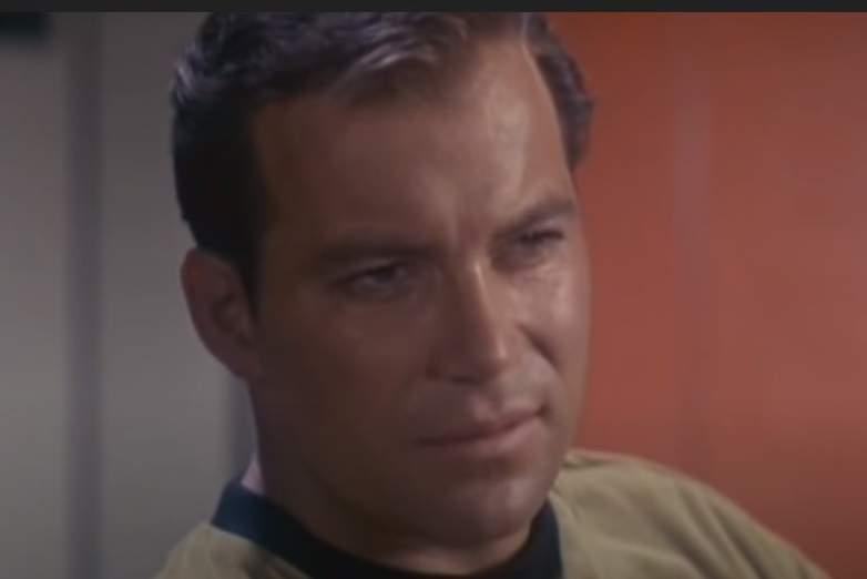 William Shatner as Captain Kirk on Star Trek The Original Series