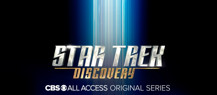 CBS All Access promotional poster for Star Trek Discovery