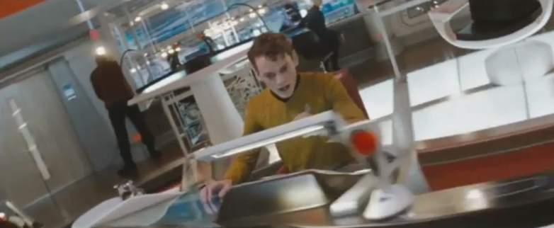 Anton Yelchin as Pavel Chekov in Star Trek