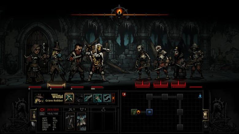 darkest dungeon best roguelike nintendo switch