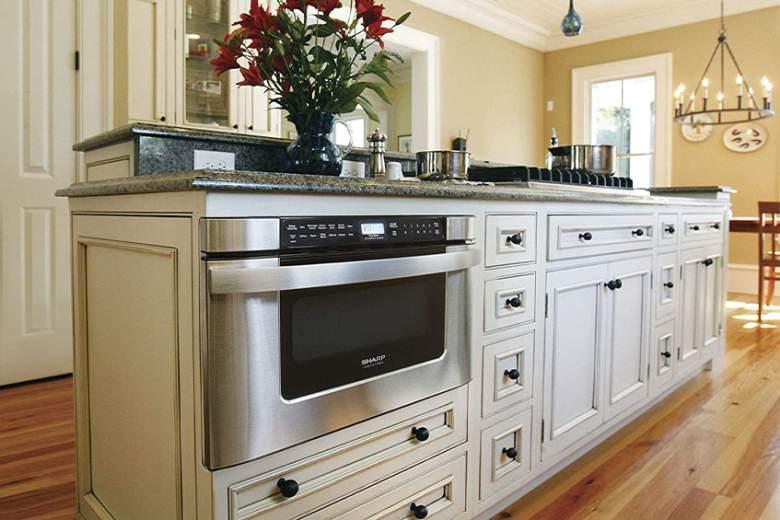 drawer-microwave
