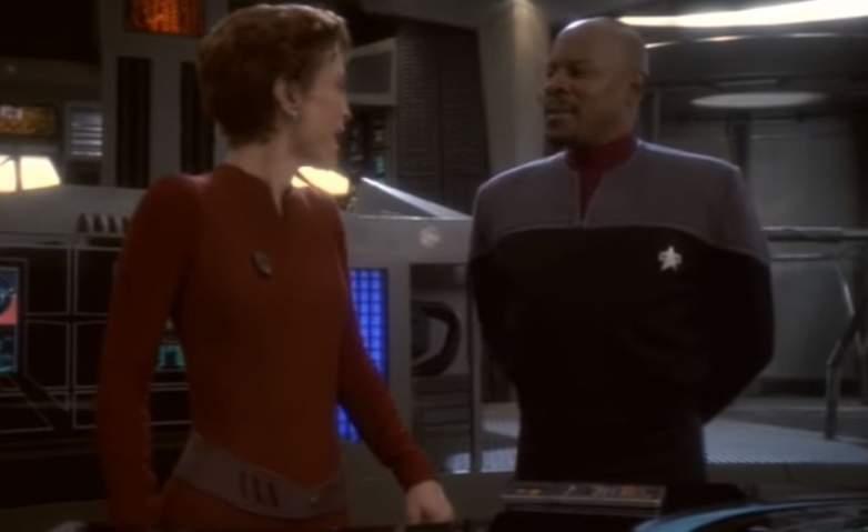 Kira Nerys and Ben Sisko