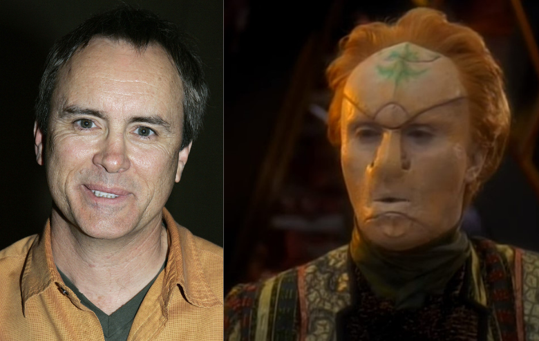Jeffry Combs and his character Tirino from Star Trek Voyager