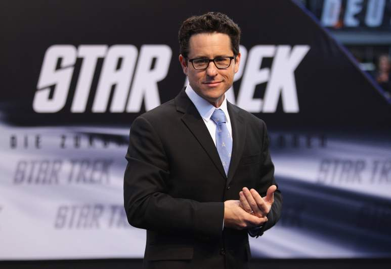 J.J. Abrams attends the 'Star Trek' Germany premiere on April 16, 2009 in Berlin, Germany