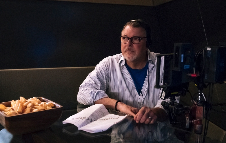 Director, Jonathan Frakes of the CBS All Access series STAR TREK: DISCOVERY