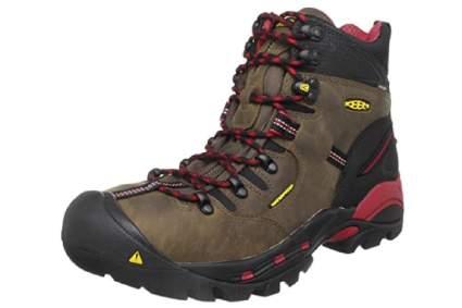 Keen Utility Pittsburgh 6-Inch Steel Toe Waterproof Work Boot