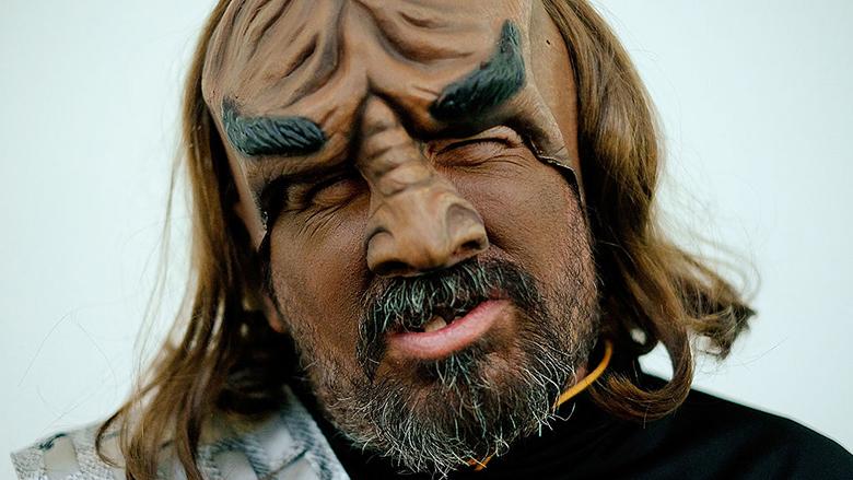 klingon costume