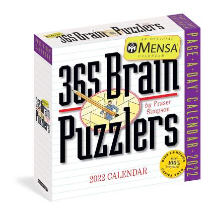 Mena brain puzzler calendar
