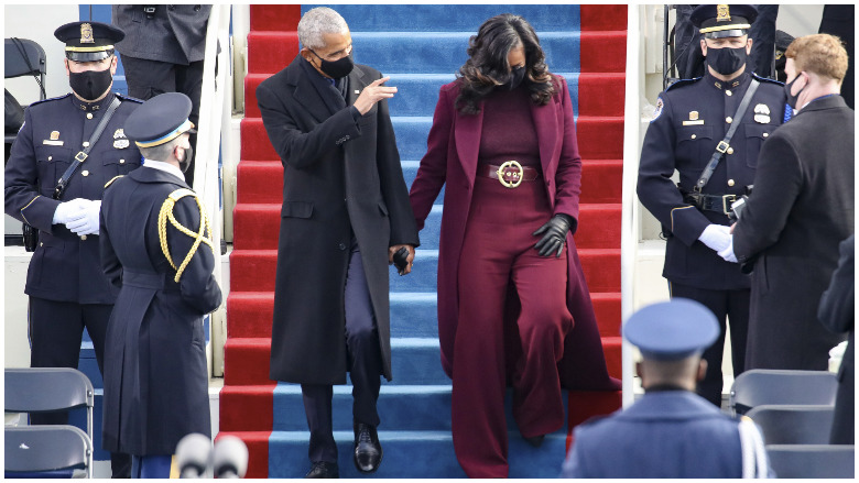 michelle obama pants suit