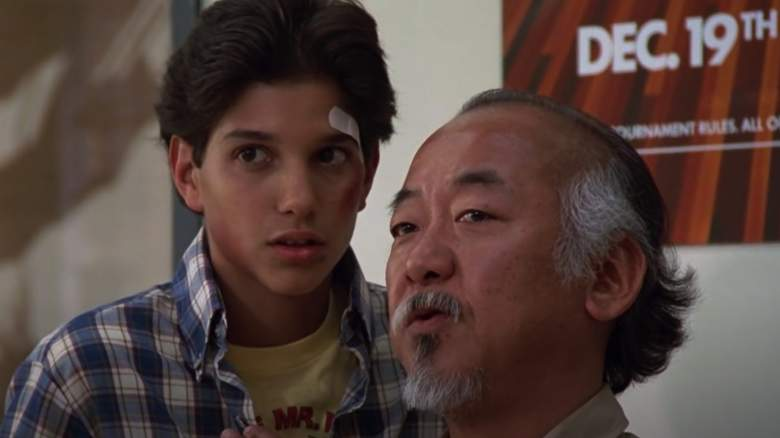 What is the secret that Mr. Miyagi did not share with Daniel