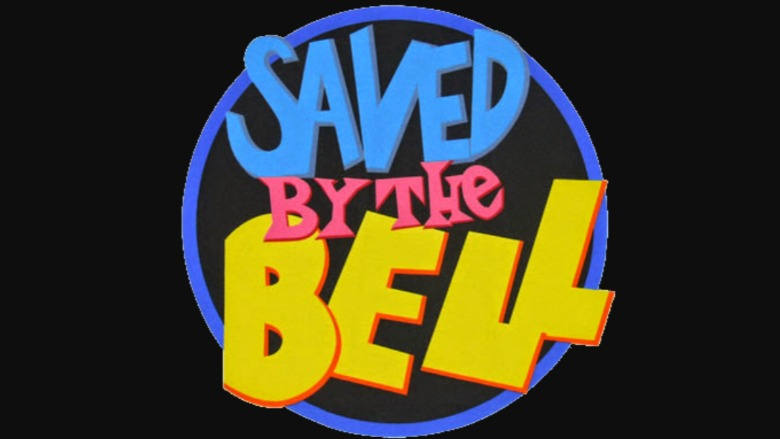 The 'Saved By the Bell' logo.