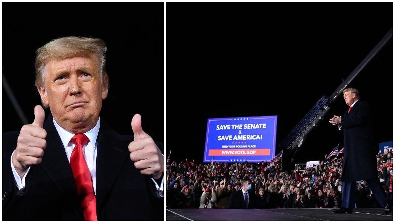 Trump Georgia Rally