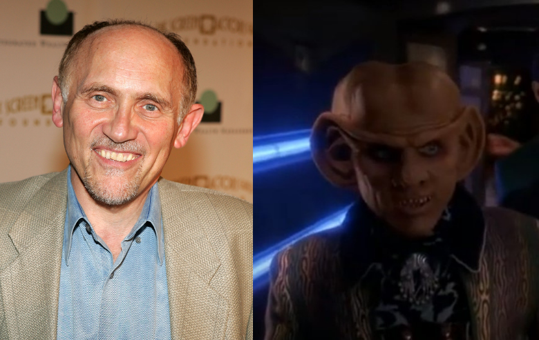 Armin Shimerman and his character Quark from Star Trek Deep Space Nine
