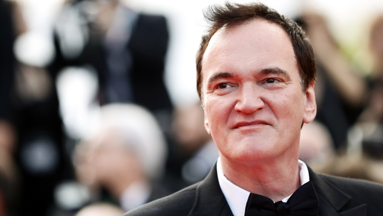 """Quentin Tarantino attends the closing ceremony screening of """"The Specials"""" during the 72nd annual Cannes Film Festival"""