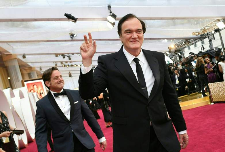 Quentin Tarantino arrives for the 92nd Oscars