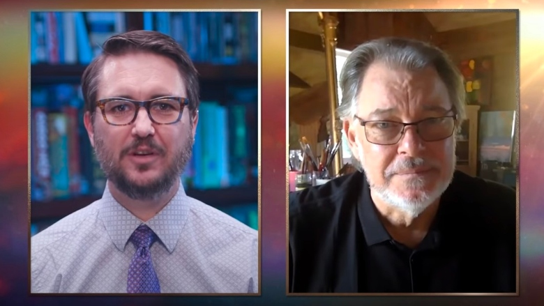 """Wil Wheaton and Jonathan Frakes on """"The Ready Room"""""""