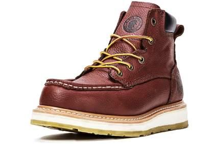 Rockrooster Walker 6-Inch Soft Toe Wedge Work Boots