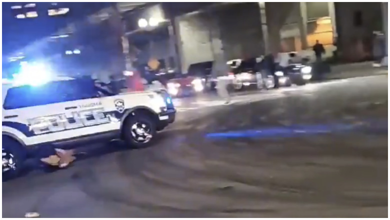 tacoma police run over people