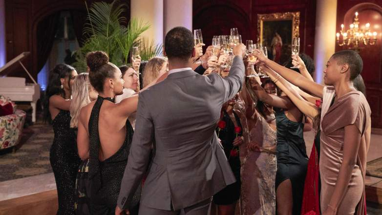 The Bachelor rose ceremony toast