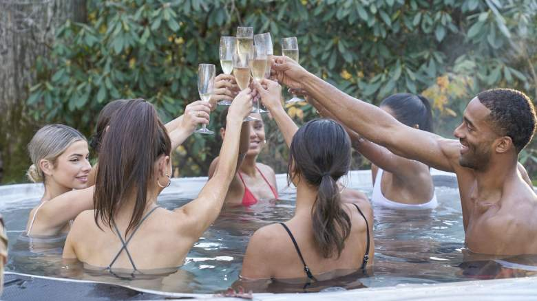 The Bachelor jacuzzi date