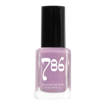 786 berry purple nail polish
