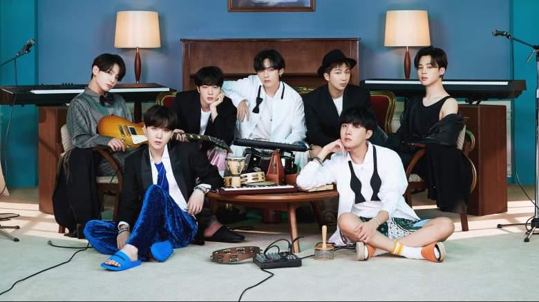 A still from 'MTV Unplugged Presents: BTS'