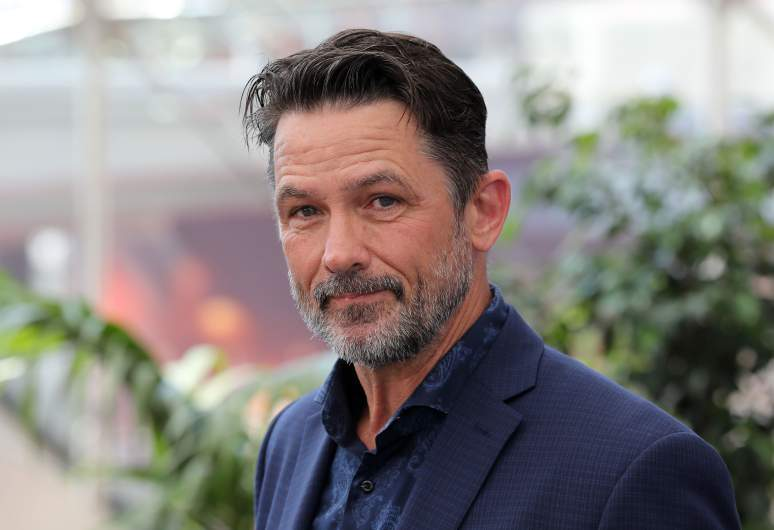 """US actor Billy Campbell poses during a photocall for the TV show """"Cardinal"""" as part of the 58nd Monte-Carlo Television Festival on June 19, 2018 in Monaco."""