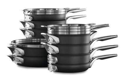 Calphalon Space Saving Non-Stick Cookware Set